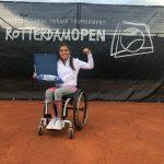 Macarena Cabrillana y Alexander Cataldo se titulan campeones del Rotterdam Open