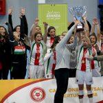 Palestino alcanzó el bicampeonato del Futsal Femenino y clasificó a la Libertadores 2018