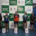 Mariam Ruiz y Juan Lamadrid ganaron el Open Nacional Chillán Viejo de Tenis de Mesa