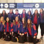 Selección Chilena de Volleyball Femenino viajó a Perú para participar en la Copa Panamericana Sub 23