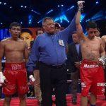 """Miguel """"Aguja"""" González defendió con éxito su título latinoamericano ante Yader Cardoza"""