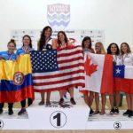 Con una medalla de bronce y la clasificación a Lima 2019 se cerró la actuación chilena en el Panamericano de Squash