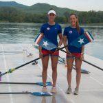 Antonia y Melita Abraham clasificaron al repechaje del Mundial de Remo