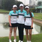 Equipo chileno lidera la competencia femenina por equipos tras primer día del Sudamericano Pre Juvenil de Golf