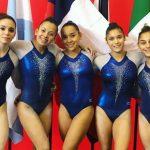 Equipo chileno femenino de gimnasia artística clasificó a los Juegos Panamericanos 2019