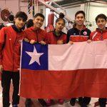 Chile suma cinco medallas tras primera jornada del Sudamericano Pre-Cadete, Cadete y Juvenil de Esgrima