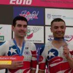 Con una medalla de bronce se cerró la participación chilena en el Panamericano de Ciclismo de Pista