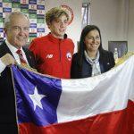 Martín Vidaurre será el abanderado nacional en los Juegos Olímpicos de la Juventud