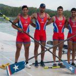 Este domingo comenzó la participación chilena en el Mundial de Remo