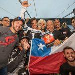 Ruy Barbosa se tituló campeón mundial juvenil de Moto Enduro