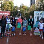 Con éxito se realizó la segunda etapa de la Liga Escolar Femenina de Tenis