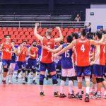 Chile derrota a Colombia y jugará por el séptimo lugar de la Copa Panamericana de Volleyball Masculino
