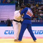 Thomás Briceño cayó en la segunda ronda del Mundial de Judo