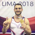 Tomás González ganó medalla de oro en el Panamericano de Gimnasia Artística