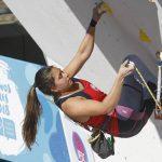 Alejandra Contreras terminó cuarta en la prueba de velocidad del Panamericano de Escalada Deportiva