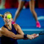 Alexa Guarachi cayó en la primera ronda de dobles del WTA de Hobart