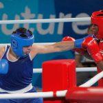 Andrews Salgado cayó en su debut en el boxeo de los Juegos Olímpicos de la Juventud