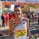 Carlos Díaz logra nuevo récord nacional de media maratón