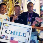 Chile obtuvo tres medallas en torneo de Apnea Outdoor en Turquía