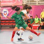 Chile se quedó con el séptimo lugar del Sudamericano Sub 20 de Futsal Femenino