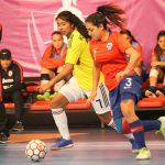 Chile cayó ante Colombia en el cierre de la fase de grupos del Sudamericano Sub 20 de Futsal Femenino