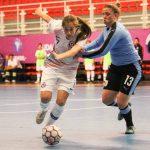 Chile cayó ante Uruguay en el Sudamericano Sub 20 de Futsal Femenino