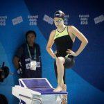 Inés Marín cumplió una destacada actuación en la natación de los Juegos Olímpicos de la Juventud