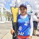 Isidora Arias obtuvo el puesto 11 en el canotaje de los Juegos Olímpicos de la Juventud