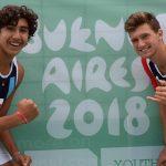 Gaspar Lammel y Vicente Droguett avanzan a la segunda fase del volleyball playa en los Juegos Olímpicos de la Juventud
