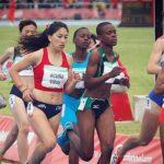 Laura Acuña y Anaís Hernández debutaron en el atletismo de los Juegos Olímpicos de la Juventud