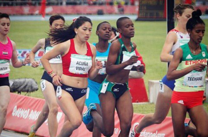 Laura Acuna Y Anais Hernandez Debutaron En El Atletismo De Los
