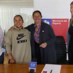 Se confirmó que la gimnasta Makarena Pinto mantendrá su Beca Proddar