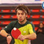 Matías Pino alcanzó los cuartos de final del Mundial de Tenis de Mesa Paralímpico