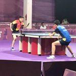 Nicolás Burgos cayó en octavos de final del tenis de mesa de los Juegos Olímpicos de la Juventud