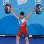 Nicolás Cuevas finalizó en la quinta posición del levantamiento de pesas en los Juegos Olímpicos de la Juventud