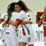 Palestino sumó su primer triunfo en la Copa Libertadores Femenina de Futsal