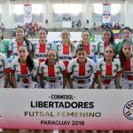 Palestino cayó ante Leoas Da Serra por la Copa Libertadores de Futsal Femenino