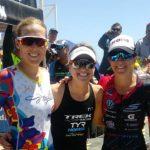 Pamela Tastets y Felipe Van De Wyngard se subieron al podio del Ironman 70.3 de Coquimbo