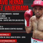 Octavio Faúndez debutará en el boxeo profesional enfrentando al boliviano Álvaro Saravia