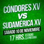 """Los """"Cóndores"""" tienen nómina para su partido de este sábado ante Sudamérica XV"""