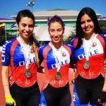 Chile sumó una medalla de plata en el Panamericano de Patín Carrera