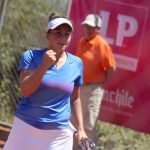 Bárbara Gatica jugará la final de dobles de la Copa LP Chile