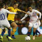 La Roja Femenina cayó en su segundo partido amistoso ante Australia