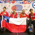 Chile obtuvo dos medallas de bronce en el Regional Open de Bochas Paralímpicas