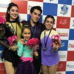 Chile logra cuatro nuevas medallas en el Sudamericano de Patinaje Artístico sobre Hielo