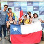 Chile tuvo una destacada participación en el Sudamericano de Surf Adaptado