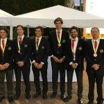 Equipo chileno masculino obtuvo el tercer lugar en la Copa Los Andes