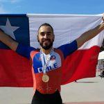 Cristopher Verdugo gana medalla de oro en el Panamericano de Patín Carrera