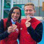 Chile sumó dos nuevas medallas de bronce en el Sudamericano de Clavados
