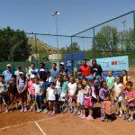 Con una clínica de tenis se dio inicio al Futuro Chile 2 Copa IND